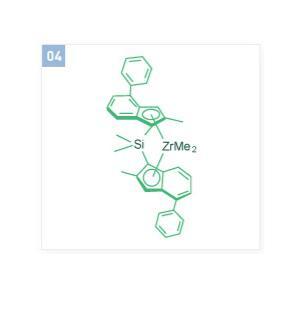 (Dimethylsilylene)bis(2-methyl-4-phenylindenyl)zirconium dimethyl