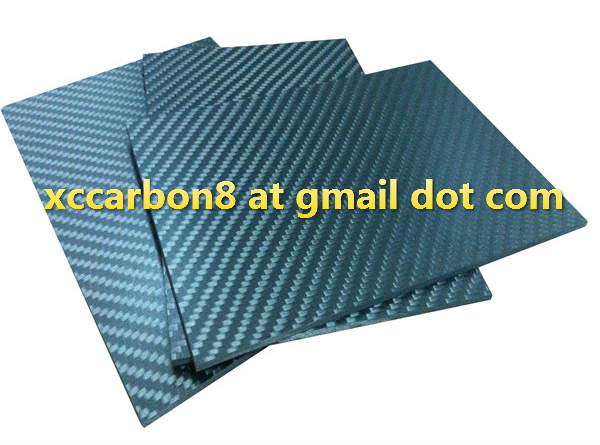 Toray 3k matte carbon fiber panel sheet 2mm 3mm 4mm