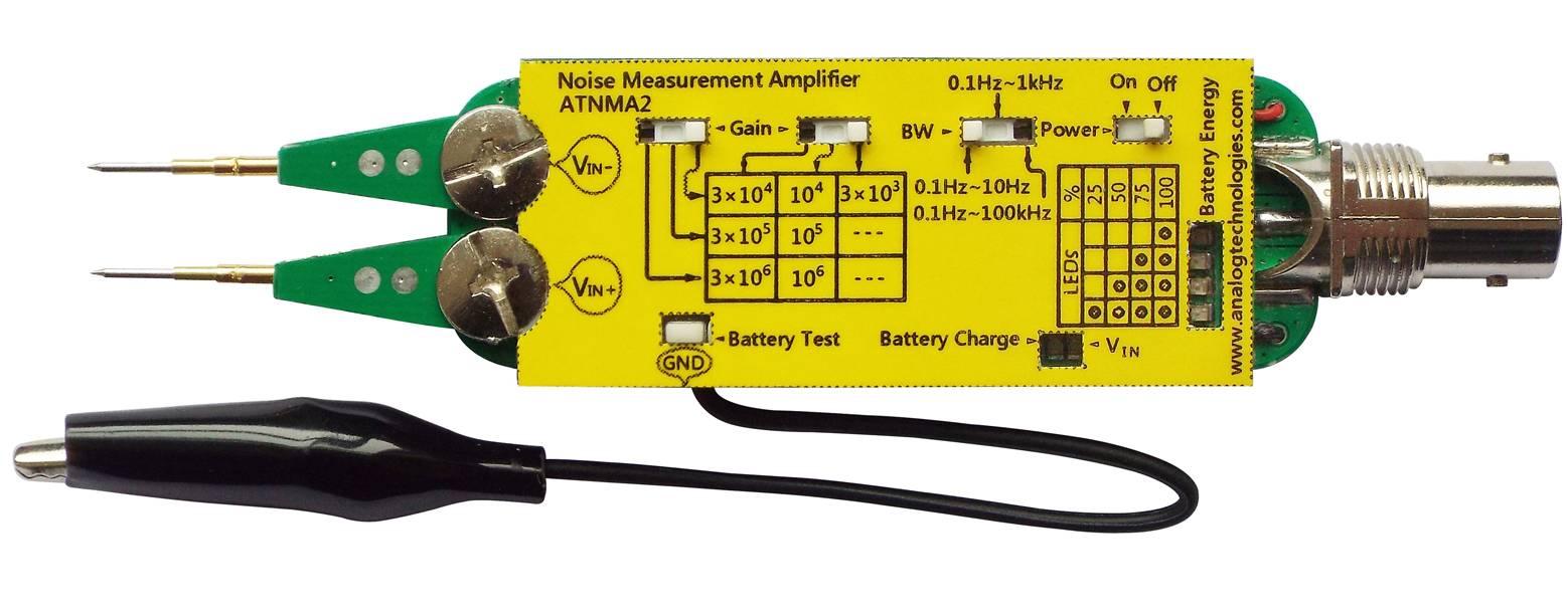 Noise Measurement Amplifier