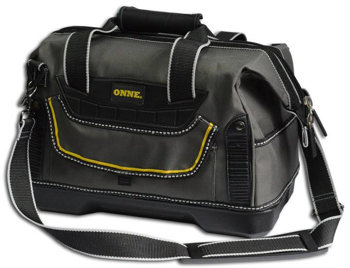 "15"" Heavy Duty Tool Bag W/Hard Base"