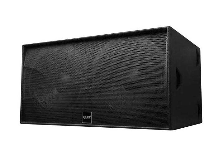 S218 Fantastic dual 18 inch show sound box subwoofer speaker