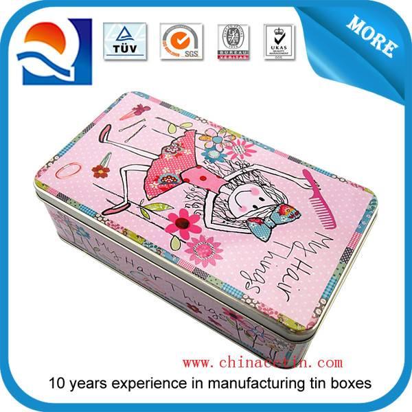 High-end chocolate tin box packaging
