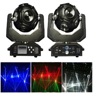 12X10W RGBW LED Football Light Moving Head Beam