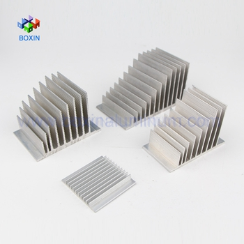 6063 Alloy Industrial Extrusion Aluminum Profiles/Profile for Heat Sink