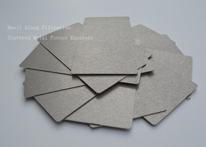 Thickness 0.5/1/1.5/2mm porous titanium sintered filter plate
