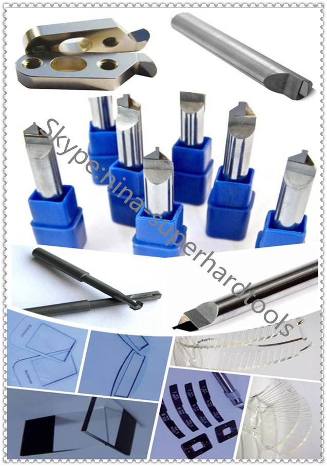 PCD acrylic polishing cutters