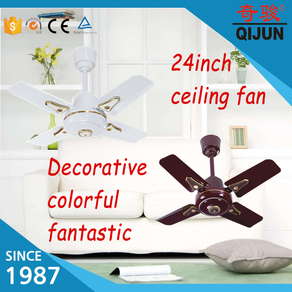 24inch ceiling fan with decoration