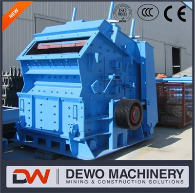 hazemag ballast rubble box impact crusher machine price