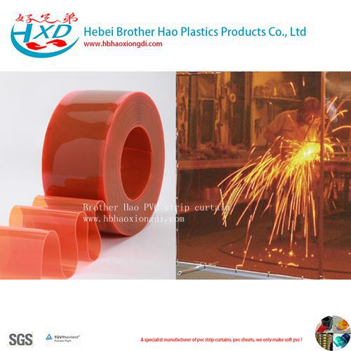 Welding Eyes Protect Flexible PVC Plastic Vinyl Door Curtain Strip Rolls