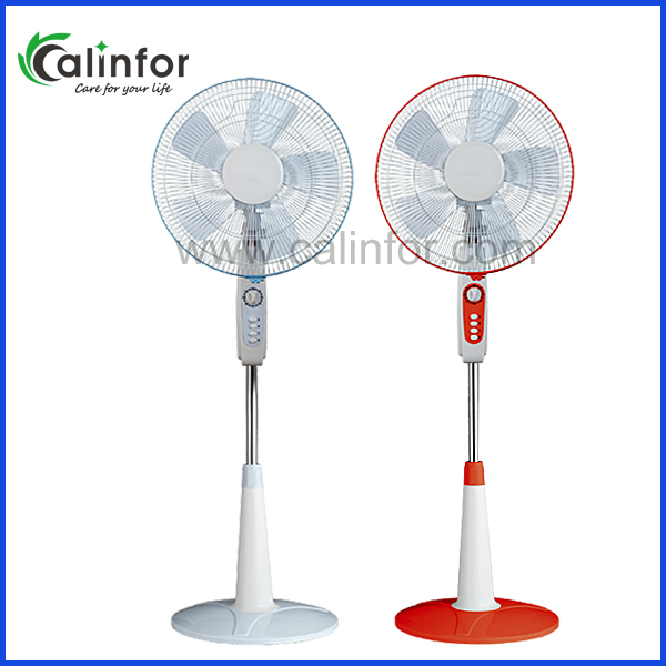 Calinfor ABS round base industrial cooling stand pedestal fan series