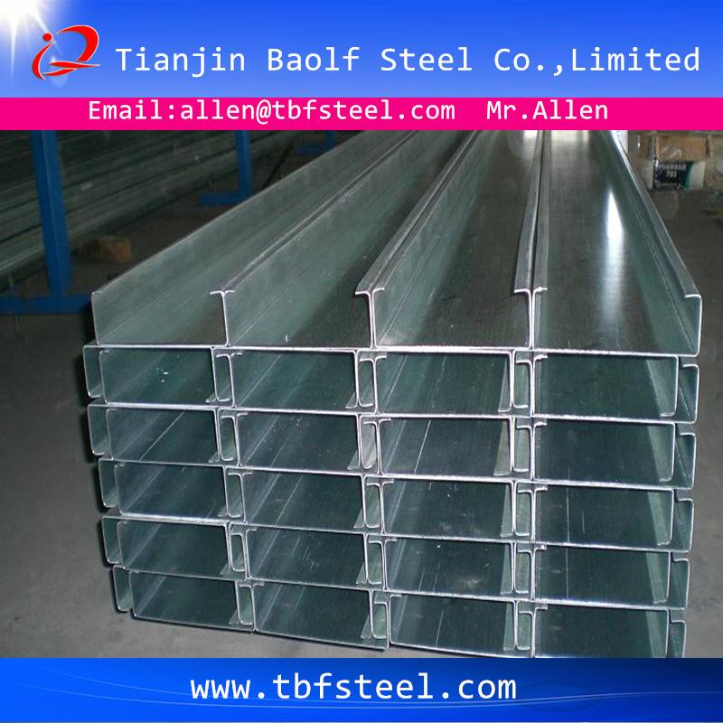 High Quality Cold Bend Steel C Beam