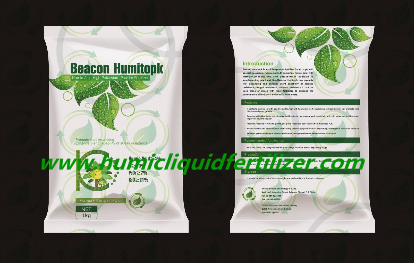 Beacon Humitopk Humic Acid High Potassium Powder Fertilizer