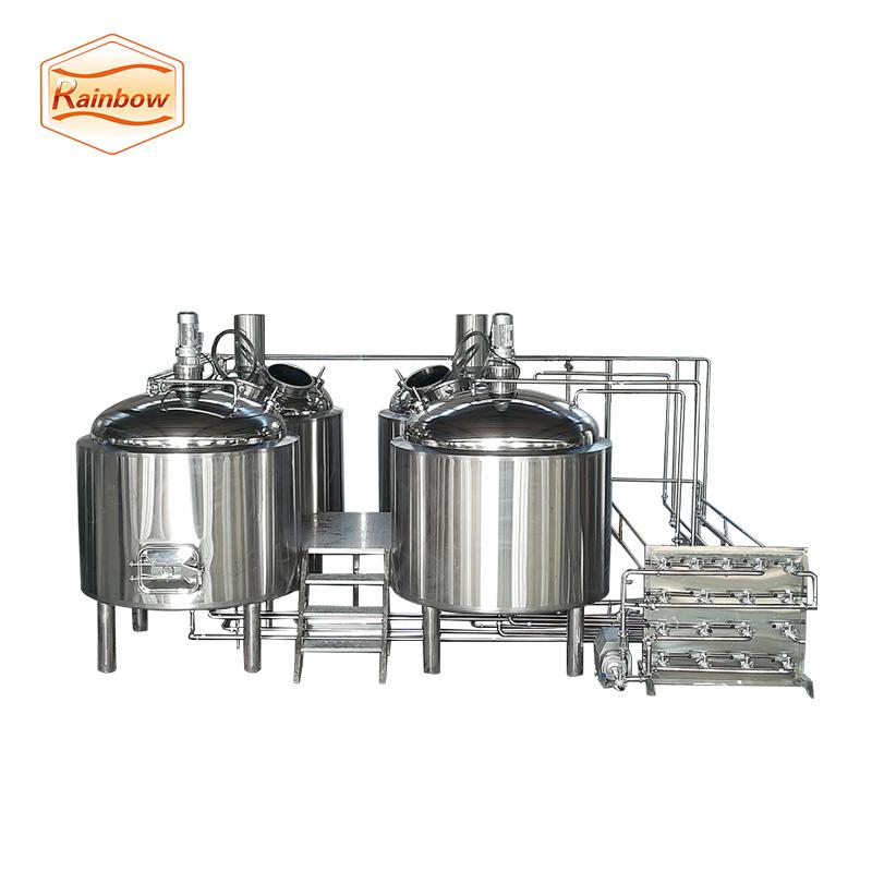 Beer making machine craft beer brewery vessel