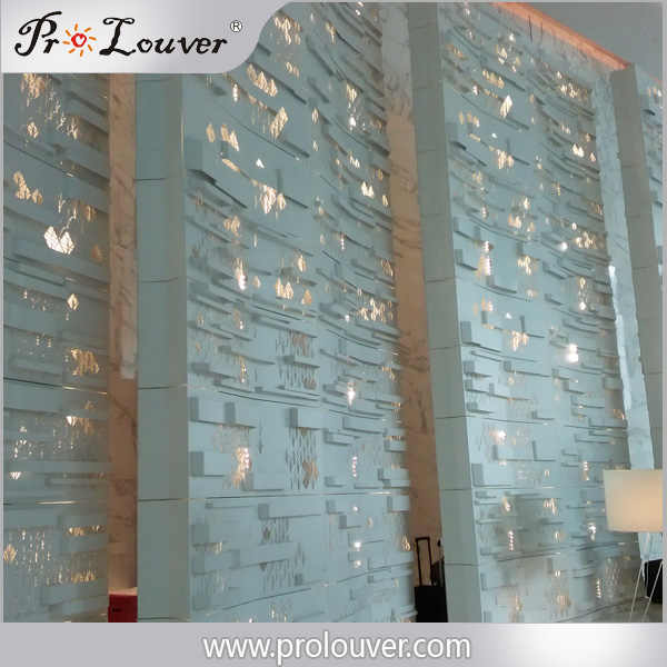 Hotel lobby decoration partition