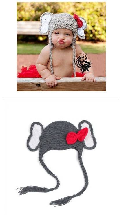 2016 latest fashion custom crochet baby photography props, newborn baby photo props
