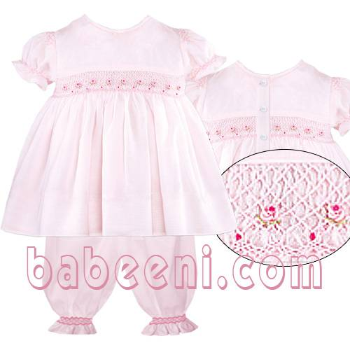 traditional hand smocked pajamas