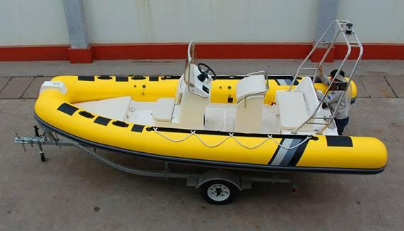 17 feet rigid inflatable boat RIB520 yacht