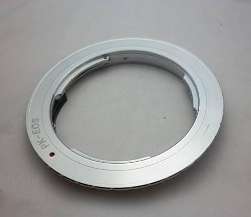 Pentax PK Lens to Canon EOS EF 5D 7D 450D 550D Mount Adapter Ring