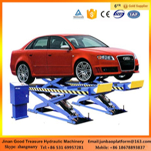 2017 Scissor Type Portable Hydraulic Used Car Lifts For Sale