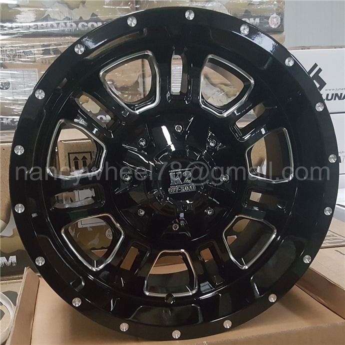 4x4 alloy wheels wholesale from china fit for off-road car