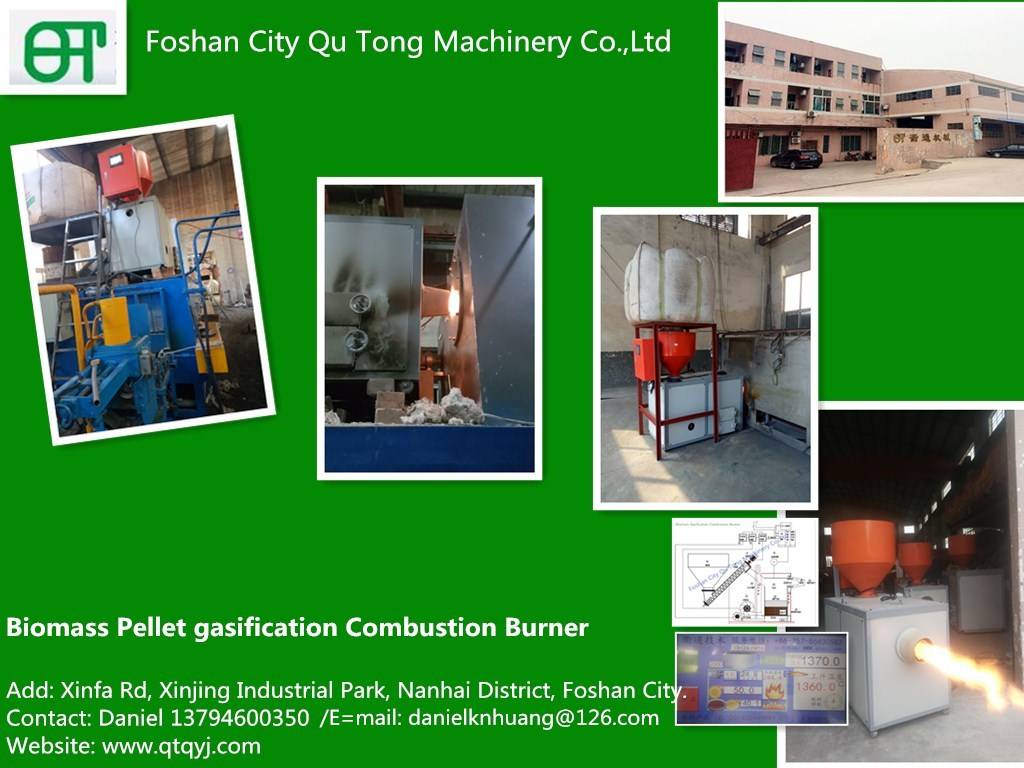 biomass gasification combustion Pellet Burner