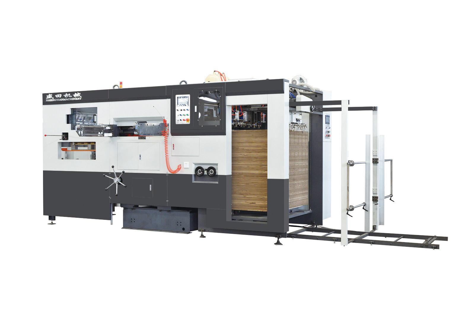 MS-1300/1450 Intelligent Automatic Die-cutting and Creasing Machine