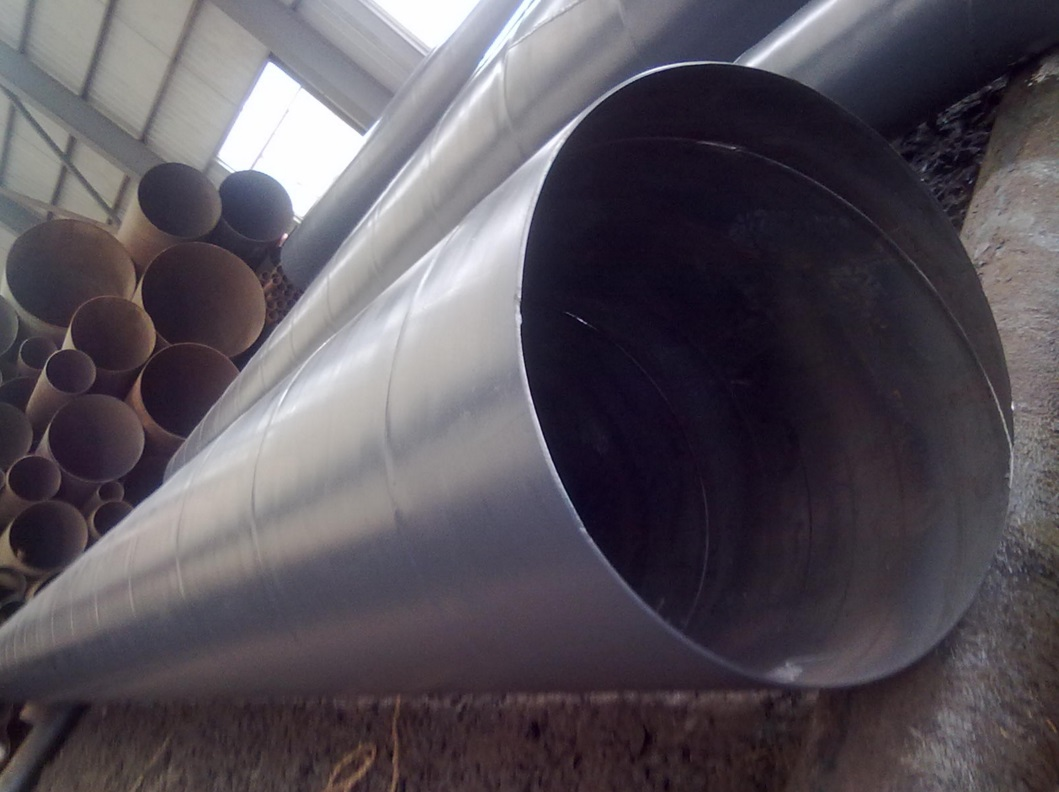 API5L X52 SSAW Spiral Welded Steel Pipes