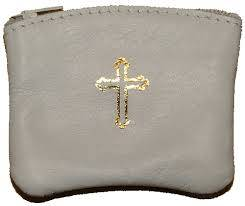 Leather Rosary purse