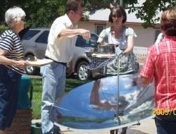 umbrella solar cooker/solar parabolic cooker Type solar cooker