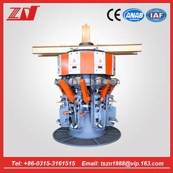 8 spouts automatic rotary cement packing machine