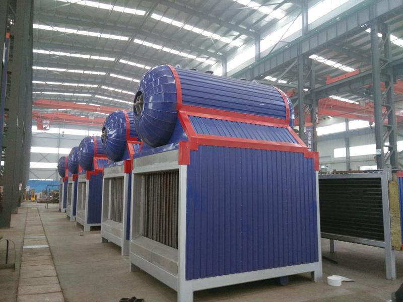 300KW/500KW Hot Tube Exhaust Gas Boilers for Generator Set Flue Gas Recycle