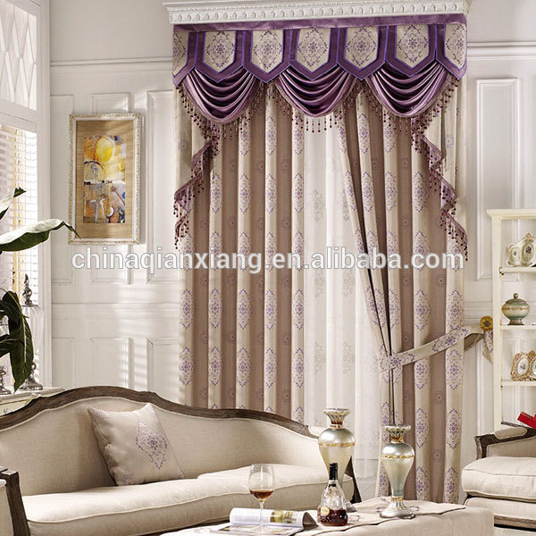 Factory Directly Sales High Quality Cheap Manual Polyester Curtain