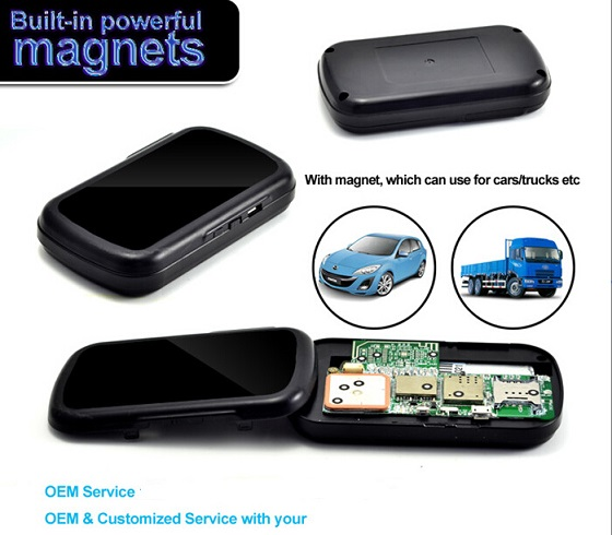 Long battery magnetic gps vehicle tracker for car and personal NT19