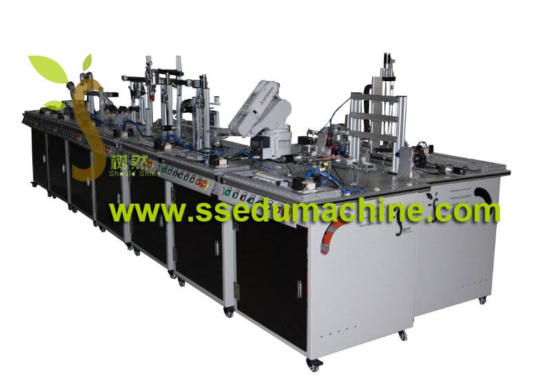 Flexible Manufacture System Mechatronics Traininig System Didactic Equipment