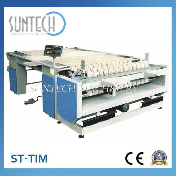 ST-TIM China Textile Machinery Table-type Cloth Checking Machine for Inspecting Fabric