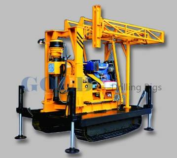 Competitive Crawler Integrated XY-2BL Core Drilling Rig with ISO Certification