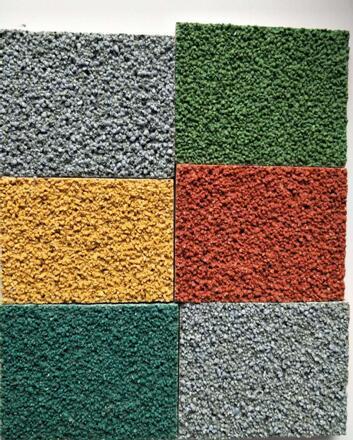 Non-Slip colorful Road pavement material