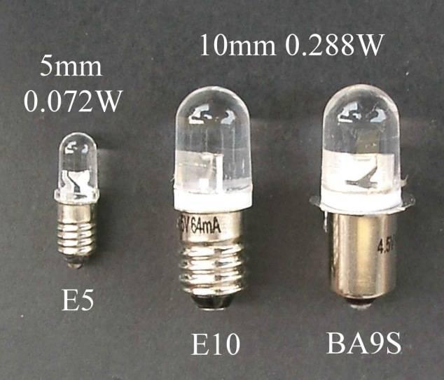 Low voltage LED Light Bulbs