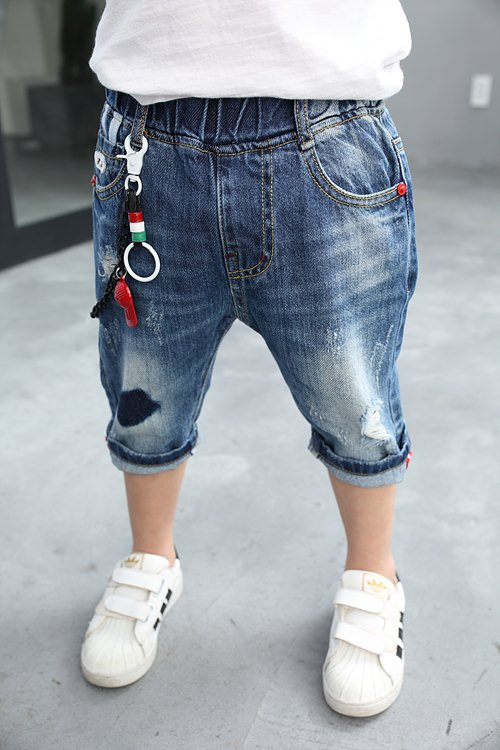 Ripped jeans for boys OEM on sale