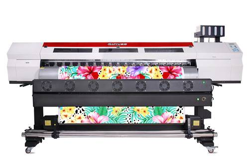 SAITU 2M Fast Speed Double Head Sublimation Printer