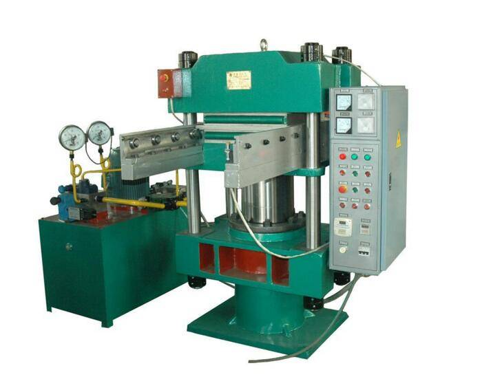 Four Pillars Rubber Vulcanizing Press Machine Rubber Curing Machine