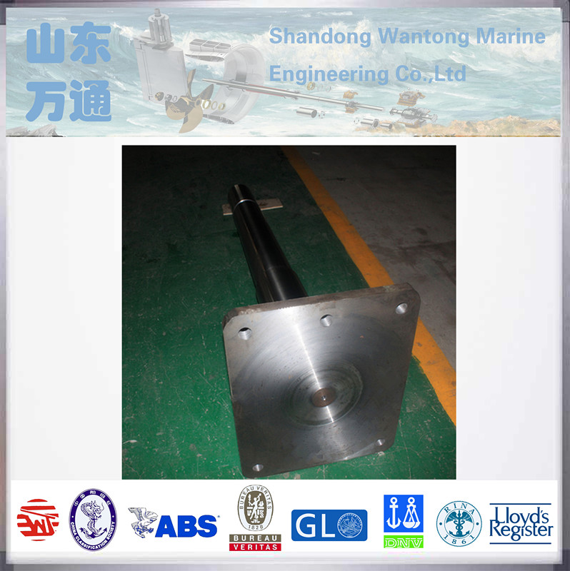 stern rudder carrier forged steel rudder stock with ship parts