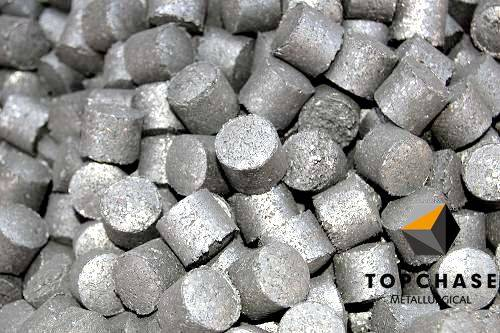 TOPCHASE Ferro silicon magnesium Nodulizer in steel-making plant