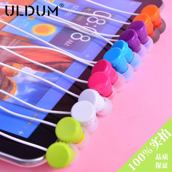 ULDUM deep bass cute funky earphones top rated earphones for mobile phone
