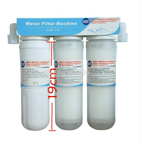 3 Stage Pre filter system with NSF standard to protect your water ionizer and guarrantee your drinki