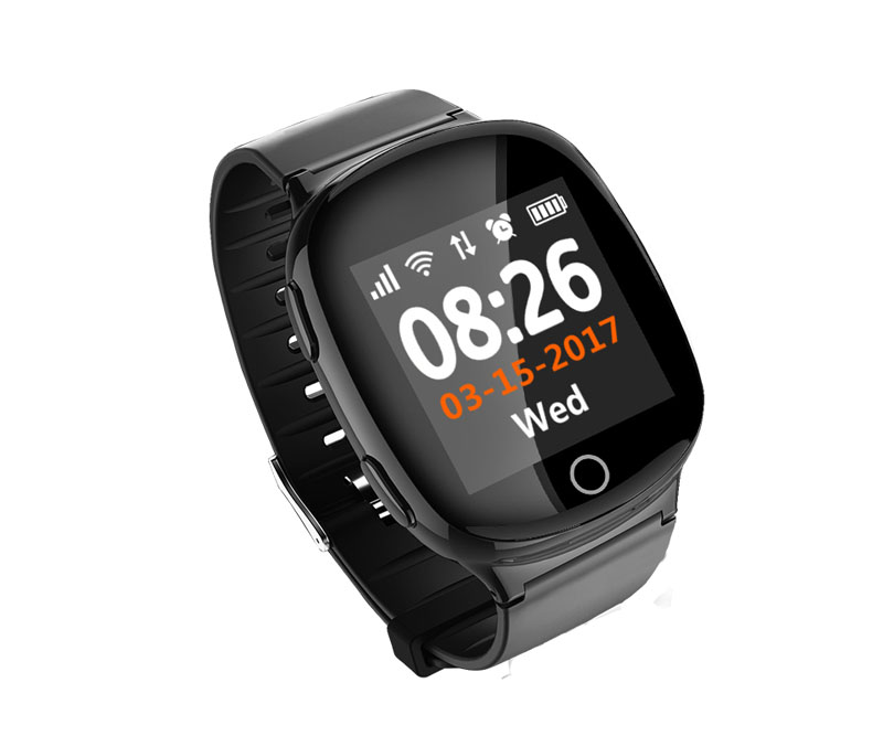 Firstsing 1.54 inch Smart Watch MT2503A GSM Heart Rate Monitor GPS WiFi SOS Tumbling Alarm