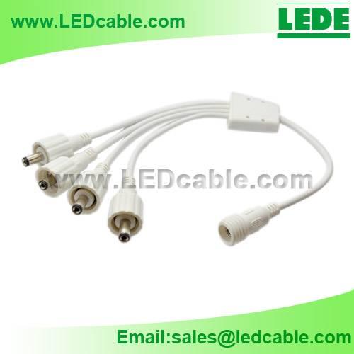 LED Waterproof DC Power Splitter