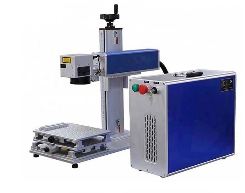 Raycus/ Ipg/Mopa 20W 30W 50W 70W 100W Fiber Laser Marking Machine For Metal
