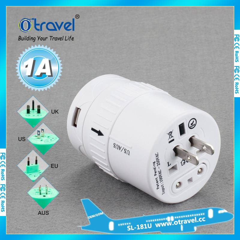 Otravel USB WORLD TRAVEL ADAPTER