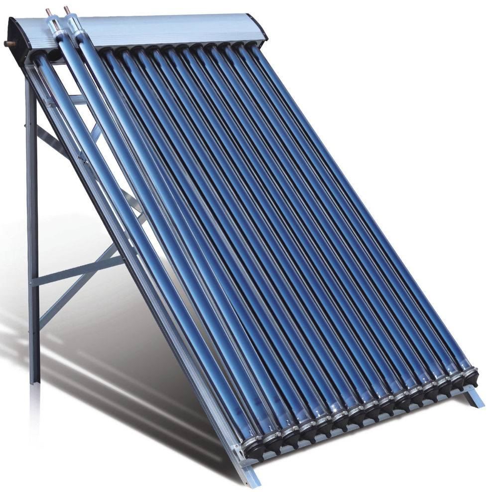 U-Pipe Solar Collector and Heat Pipe Evacuated Solar Collector for Heating